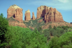 photo of Cathedral Rock in Sedona Arizona