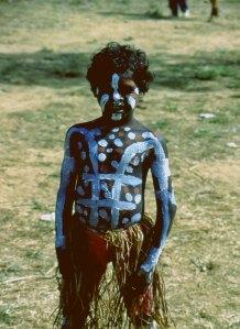 Australian aborigine boy