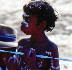 photo, aborigine boy
