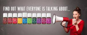 photo of young living oils