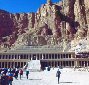 photo of Egyptian temple