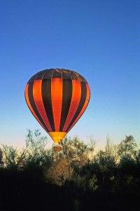Early morning balloonride
