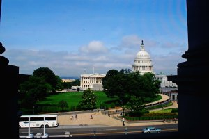 A picture of the U.S. Capitol building