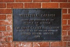 Anne casey foundation plaque
