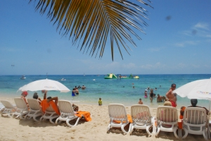 photo of the Cozumel beach