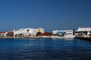 photo of the town of Cozumel