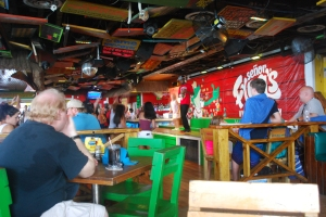 phot of the bar in Senor Frogs