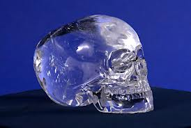 photo of crystal skull