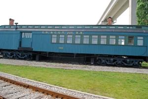 photo fo port huron train