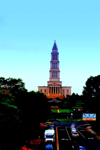 photo of the George washington Masonic Memorial